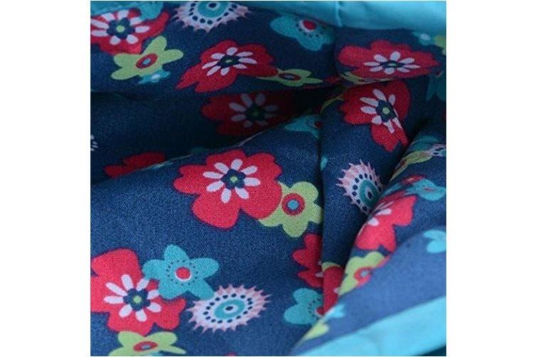 (5, Blue) - Baby Kid Girl Waterproof Hooded Coat Jacket Outwear Raincoat Hoodies