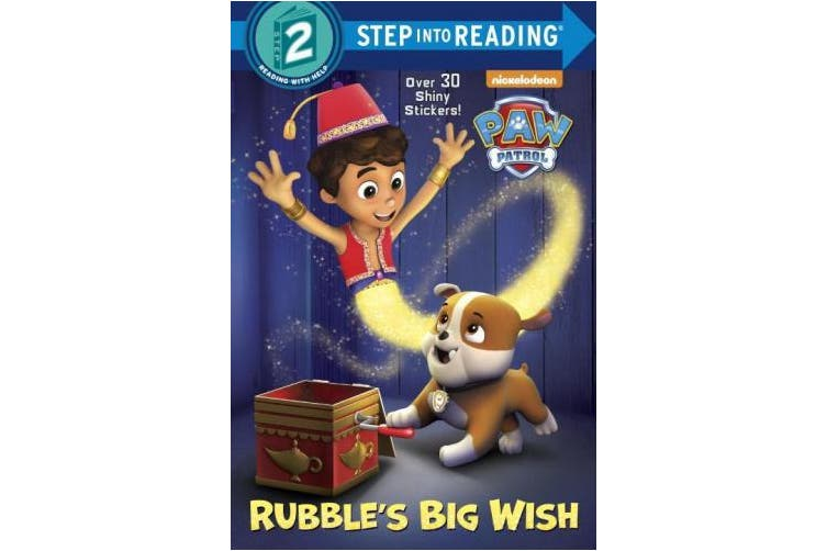 Rubble's Big Wish (Paw Patrol) (Step Into Reading: A Step 2 Book)
