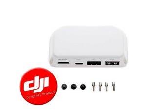 DJI Phantom 3 Pro/Adv./Phantom 4- HDMI Output Module Part 54 (White)with free Luckybird USB Reader 1pc