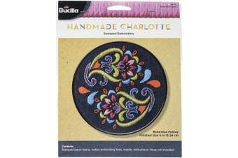 Bucilla Stmaped Embroidery Kit 15cm Round