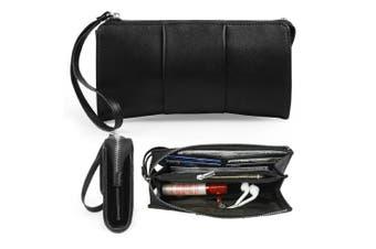 (Black Butterfly) - Becko Women Wallet and Purse Long Clutch Bag Handbag Card Holder