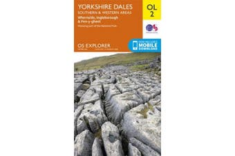 Yorkshire Dales South & Western (OS Explorer Map)