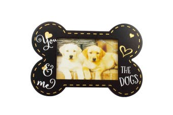Bone Shape Picture Photo Frame You Me & The Dogs Design Home Decor