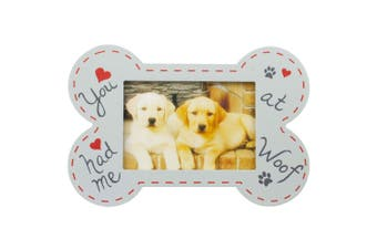 Bone Shape Picture Photo Frame You Had Me At Woof Design Home Decor