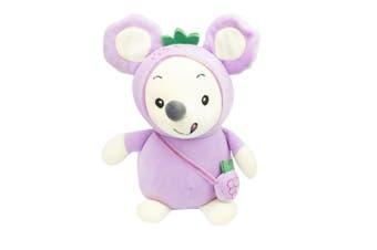 Soft Toys Stuffed Mouse Lilac 24cm