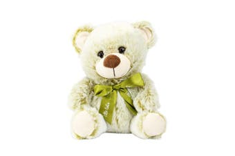 Bear 22cm - Olive With Ribbon