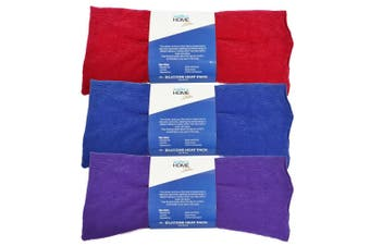 Surgical Basics Silicone Bead Heat Pack Assorted Colours 38cm x 18cm