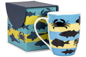 Lulu Grace Ceramic Mug Sea Life