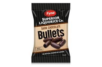 Fyna Bullets Dark Chocolate  250g Fyna
