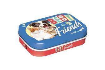 Mint Tin Box Novelty 34gr Best Friends Cat & Dog