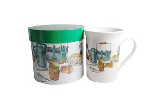Lulu Grace New Bone China Tea Coffee Mug Green Tea Party