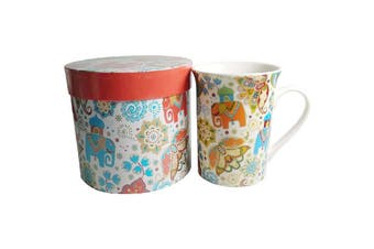 Lulu Grace New Bone China Tea Coffee Mug Elephant