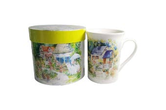 Lulu Grace New Bone China Tea Coffee Mug Country Cottage