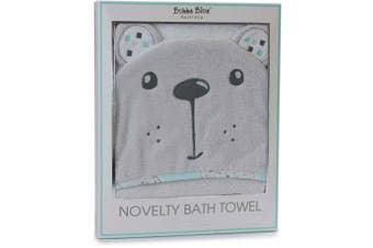 Bubba Blue Novelty Bath Towel Beary Happy