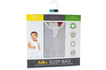Sleeping Bag 3-12m Air+ Grey Bubba Blue