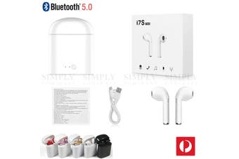 TWS Wireless Headphones Bluetooth 5.0 Earbuds Earphones Stereo In Ear Android - Single Earbud (Left) + Cable
