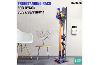 Kartech Freestanding Dyson Vacuum Stand Rack Cordless Accessories V6 7 8 10 11