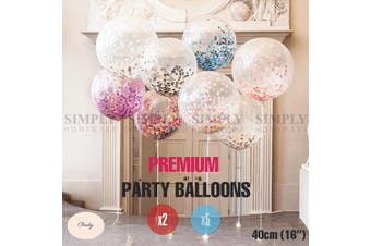 Balloons Bulk Foil Party Birthday Anniversary Wedding Helium Colours Decoration - Random of Balloons - 2x