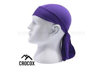 Crocox Cycling Skull Cap Beanie Helmet Liners Sweat Bandana Chemo Hat Running