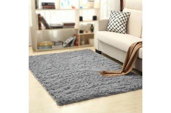 Lecluse Rugs Shaggy Floor Carpets Extra Large Lounge Couch Non Slip Anti Area