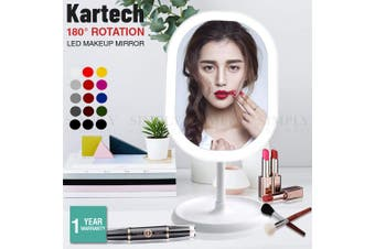 Kartech LED Makeup Mirror With Light Vanity Cosmetic Flexible Small Illuminated