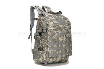 Crocox MOLLE Tactical Backpack Bag Military Pouches Rucksack Canvas Army Hiking
