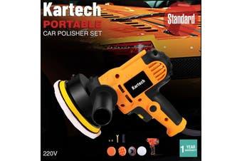 Kartech Car Polisher Electric Machine Buffer Pads Paint Scratch Orbital Sander 6