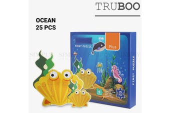 Truboo Kids Puzzle Children Educational Toy Set Age 2 3 4 5 Learning Animals