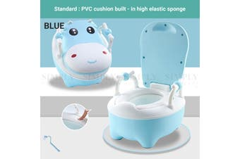 Truboo Kids Toilet Baby Training Potty Closestool Safety Seat Soft PU Trainer - Standard