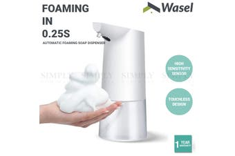 Wasel Automatic Foaming Soap Dispenser Smart Hand Washer Sensor Touchless 350ml