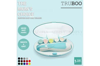 Truboo Electric Baby Nail Trimmer Infant Newborn Safe Grinder Clipper Tools Set