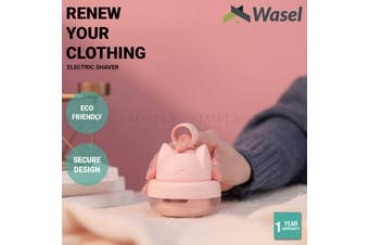 Wasel Portable Electric Clothes Shaver Cute Cat Shape Lint Rechargeable Remover