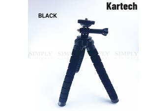 Kartech Octopus Tripod Stand Flexible Universal GoPro Phone Camera DSLR Portable