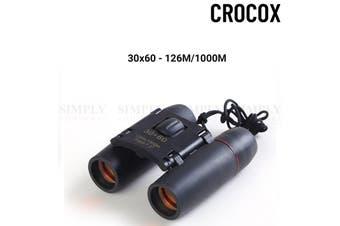 Crocox Hunting Binoculars Day Night Vision HD Telescope Hiking Mini Folding