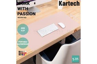 Kartech Double Side Mouse Pad Working Gaming For iPad Laptop Desktop S/M/L - L:  120cm x 60cm (Black/Red)