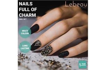 Lebeau Nail Art Set Care Tools Manicure DIY Tips Acrylic Gel Powder Polish Brush