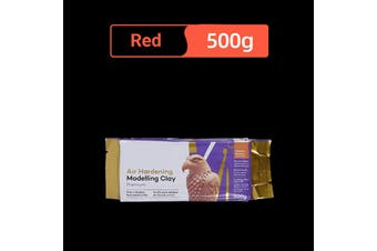 Lineguard Air Hardening Modelling Clay Premium Craft Art Red White 500g/2kg