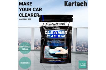 4x Kartech Car Clay Bar Auto Detailing Wash Cleaning Mud Magic Paint Remover - 4 Pack