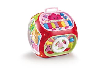 Truboo Kids Activity Cube Toy Baby Early Educational Learning House Play Center