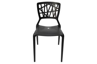 Replica Dondoli e Pocci Viento Chair | Black