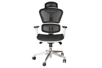 Replica Ergohuman Ergonomic Japanese Mesh Desk / Office Chair | White & Black