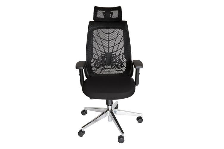Ergosoft Ergonomic Japanese Mesh Desk Office Chair Black Matt Blatt