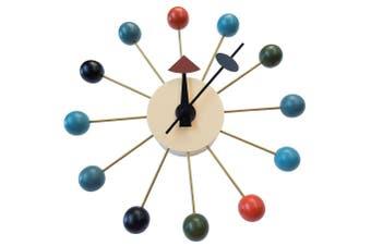 Replica George Nelson Ball Clock | Multi Coloured