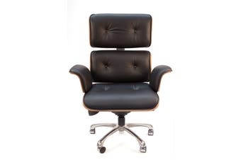 Replica Eames High Back Executive Desk / Office Chair | Black