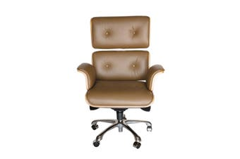 Replica Eames High Back Executive Desk / Office Chair | Brown