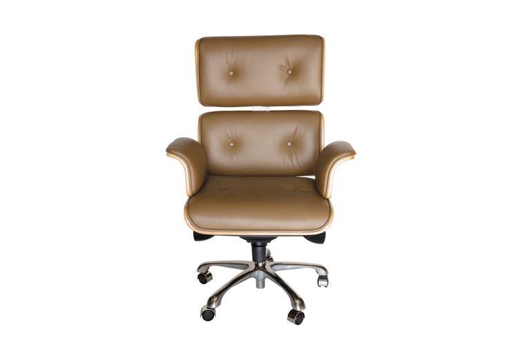 Replica Eames High Back Executive Desk / Office Chair | Brown