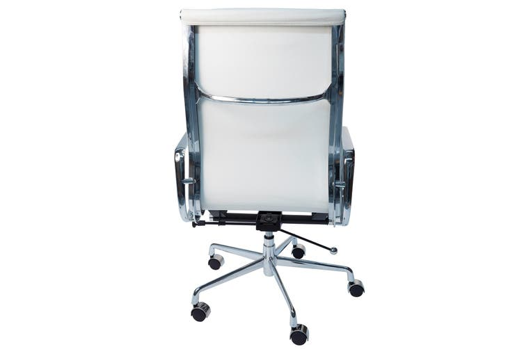 Replica Eames High Back Soft Pad Executive Desk / Office Chair   White