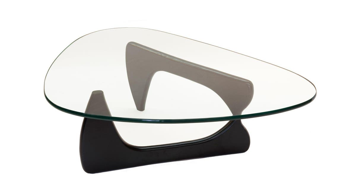 Replica Isamu Noguchi Glass Coffee Table Black Kogan Com