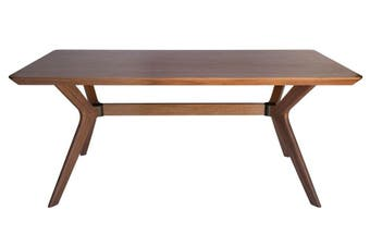 Doreen Collection | Rectangular Wood Dining Table | Walnut | 180cm