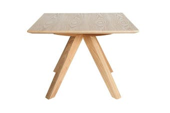 Amber Collection | Square Wood Side Table | Natural